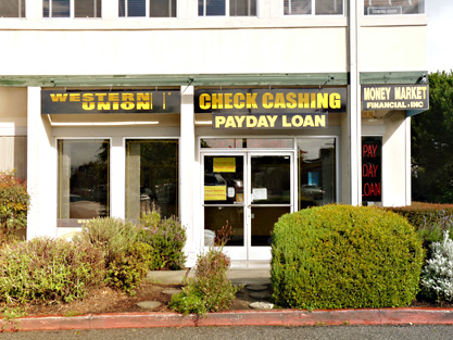 Money Market Check Cashing in Capitola