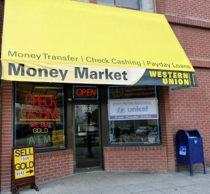 Money Market Check Cashing in Santa Cruz